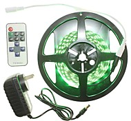 5M 300x5050LED Strip Light Sets Waterproof 11 key controller AC100-240V AU / EU / US / UK Power Plug  DC12V 2A