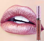Недорогие -новый блеск блеск для губ макияж пигмент золото ню русалка цвет губной блеск мерцающий металлический жидкий губная помада блеск для губ