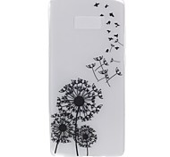 Case for Samsung Note 8 Cover Glow in the Dark Back Cover Case Dandelion Soft TPU