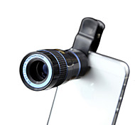 XIHAMA 8X Mobile Phone Lens 8X Long Focal Lens Aluminium Alloy ABS Glass  For Android Cellphone  iPhone