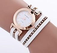Недорогие -Жен. Модные часы Часы-браслет Уникальный творческий часы Китайский Кварцевый PU Группа Богемные С подвесками Повседневная Элегантные часы