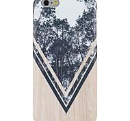 Per iPhone X iPhone 8 Custodie cover Fantasia/disegno Custodia posteriore Custodia Simil-legno Albero Morbido TPU per Apple iPhone X