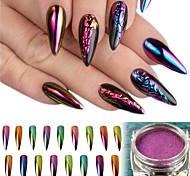 cheap -1set Elegant & Luxurious Sparkle & Shine Nail Glitter Powder Glitter Powder Nail Art Design
