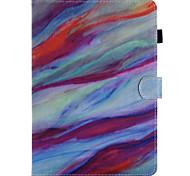 para capa de capa porta carteira carteira com stand flip padrão caixa de corpo inteiro mármore couro duro para maçã ipad pro 10.5 ipad