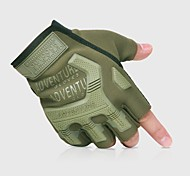 Sports Gloves Bike Gloves / Cycling Gloves Wearable Breathable Protective Fingerless Gloves Cloth Nylon Cycling / Bike Unisex