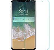 cheap -Screen Protector Apple for iPhone X Tempered Glass 1 pc Front Screen Protector Scratch Proof Explosion Proof High Definition (HD)