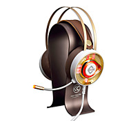 cheap -AJAZZ AX360Gold Headband Wired Headphones Dynamic Stainless Steel / Plastic Gaming Earphone with Volume Control / with Microphone /