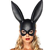 1pc женщин маскарад черный кролик маски Хэллоуин украшения