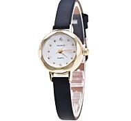 Women's Dress Watch Wrist watch Simulated Diamond Watch Chinese Quartz Imitation Diamond PU Band Charm Casual Elegant Black White Blue