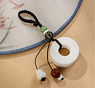 Bag / Phone / Keychain Charm Phone Strap Nylon Tagua Nut Cell Phone Charms