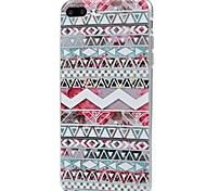 cheap -Case For Apple iPhone X iPhone 8 Ultra-thin Pattern Back Cover Geometric Pattern Soft TPU for iPhone X iPhone 8 Plus iPhone 8 iPhone 7