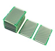 cheap -10Pcs Double Sided Protoboard Prototyping Pcb Board 4cm x 6cm