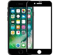 Недорогие -Защитная плёнка для экрана Apple для iPhone 8 Закаленное стекло 1 ед. Защитная пленка на всё устройство 3D закругленные углы Против