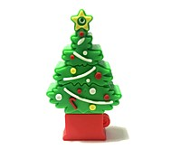 16GB Christmas USB Flash Drive Cartoon Creative Christmas Tree Christmas Gift USB 2.0