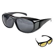 Недорогие -Пластиковый корпус Смешанные материалы Черный Желтый 1шт Линейки и Рулетки Солнечные очки Солнцезащитные очки 15cm