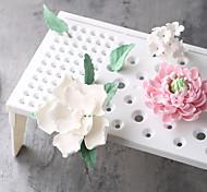 пластиковые помадные торт инструменты помада цветок формируя площадку замороженные сахар сушки стойку торт формы
