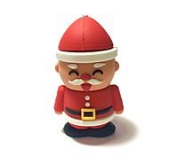 32gb christmas usb flash drive cartoon creative santa claus christmas gift usb 2.0
