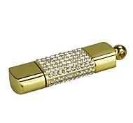 Недорогие -16g u диск кристалл ручка привода ручка привода ювелирные изделия usb флеш-накопитель usb 2.0 рождественский подарок
