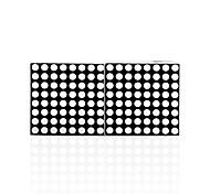 Недорогие -малиновый pi 16 * 8 светодиодный матричный экран