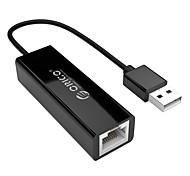 cheap -ORICO USB 2.0 Adapter, USB 2.0 to USB 3.0 RJ45 Adapter Male - Female 0.1m(0.3Ft)