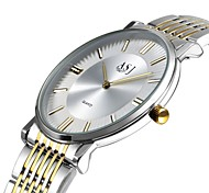 cheap -ASJ Women's Wrist watch Dress Watch Fashion Watch Japanese Quartz Large Dial Stainless Steel Band Casual Minimalist Elegant White