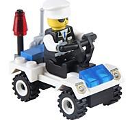 Недорогие -JIESTAR Конструкторы Полицейская машинка Игрушки Транспорт Армия Non Toxic Классика Новый дизайн Взрослые 36 Куски