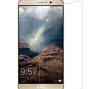abordables -Protector de pantalla Huawei para Mate 9 Vidrio Templado 1 pieza Protector de Pantalla Frontal Borde Curvado 2.5D Dureza 9H Alta