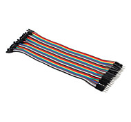 Female to Male Breadboard Wires for Electronic DIY 22cm