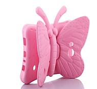 Недорогие -Кейс для Назначение SSamsung Galaxy Tab 4 7.0 Tab 3 Lite Безопасно для детей Задняя крышка Сплошной цвет Бабочка Твердый EVA для Tab 4
