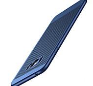 Недорогие -Кейс для Назначение SSamsung Galaxy Матовое Задняя крышка Сплошной цвет Твердый PC для S8 S8 Plus S7 edge S7 S6 edge