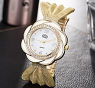 Women's Unique Creative Watch Casual Watch Fashion Watch Wrist watch Quartz Alloy Band Charm Luxury Creative Casual Elegant Cool Silver