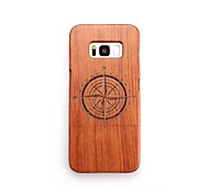 abordables -Funda Para Samsung Galaxy S8 Plus S8 Antigolpes Diseños Funda Trasera Diseño Geométrico Dura De madera para S8 Plus S8 S7 edge S7 S6 edge