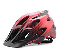 Недорогие -Универсальные Велоспорт шлем 22 Вентиляционные клапаны Велоспорт Горные велосипеды Шоссейные велосипеды Стандартный размер