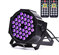 cheap -U'King ZQ-B193B-YK2 36*1W LEDs Purple Color Auto DMX Sound Activated Par Stage Lighting with 1 Remote Control for Disco Party Club KTV Wedding