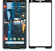 Screen Protector for Google Google Pixel 2 XL Tempered Glass 1 pc Front Screen Protector 9H Hardness Scratch Proof 3D Curved edge