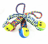 Dog Toy Pet Toys Chew Toy Tennis Ball Cotton