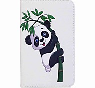 cheap -Case For Samsung Galaxy Full Body Cases Tablet Cases Panda Hard PU Leather for Tab A 7.0 (2016)