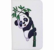 panda und bambus muster kartenhalter brieftasche mit standplatz flip magnetische pu ledertasche für samsung galaxy tab a 7.0 t280 t285 7.0