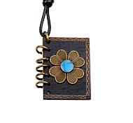 Недорогие -Жен. Ожерелья с подвесками - Винтаж Черный Ожерелье Назначение Подарок, На выход