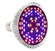 Недорогие -YWXLIGHT® 1 ед. 12W 1050-1150 lm E27 Растущие лампочки PAR30 78 светодиоды SMD 5730 Декоративная Фиолетовый AC 85-265V