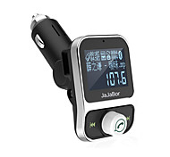 cheap -Dual USB Car Kit Bluetooth MP3 Player Charger Hands-free Call Wireless FM Transmitter Modulator With LCD Display