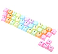 Недорогие -моторизованный переключатель c100 настольная клавиатура ПК механическая вишня mx pwt key cap 37 ключ с выводом клавиши на клавиатуре rgb