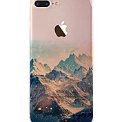 cheap -Case For iPhone X iPhone 8 Ultra-thin Transparent Pattern Back Cover Scenery Soft TPU for iPhone X iPhone 8 Plus iPhone 8 iPhone 7 Plus