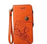 Case For Apple iPhone X iPhone 8 iPhone 8 Plus Wallet Card Holder with Stand Flip Pattern Full Body Flower Hard PU Leather for iPhone X