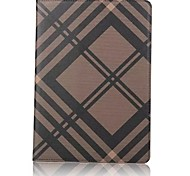 Case For Apple iPad (2017) with Stand Flip Full Body Solid Color Other Hard PU Leather for iPad (2017) iPad Pro 9.7'' iPad Air