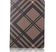 Недорогие -Кейс для Назначение Apple iPad (2017) со стендом Флип Чехол Сплошной цвет другое Твердый Искусственная кожа для iPad (2017) iPad Pro