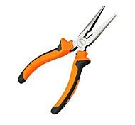Недорогие -многоручные инструменты 6-дюймовые носовые плоскогубцы режущие зажимные зачистки электрик ремонт плоский мини-плоскогубцы