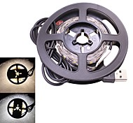 Недорогие -20w usb led strip light 3m dc 5v 2835 smd 180 leds tv background lighting warm / cool white (1 шт)
