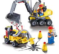 Недорогие -Конструкторы Экскаваторная погрузочная машина Экскаватор Игрушки Транспорт Мальчики 192 Куски
