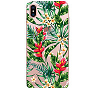 cheap -Case For Apple iPhone X iPhone 8 iPhone 6 iPhone 7 Plus iPhone 7 Ultra-thin Pattern Back Cover Flower Soft TPU for iPhone X iPhone 8 Plus